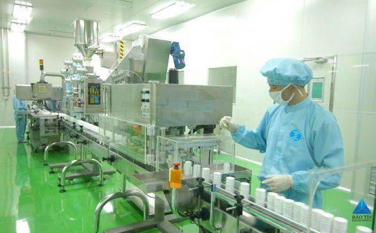 Thiết kế phòng sạch sản xuất mỹ phẩm