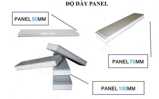 Tấm Panel cách nhiệt là gì? phân loại và báo giá