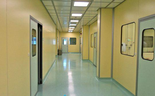 Thi công tường phòng sạch đảm bảo tiêu chuẩn