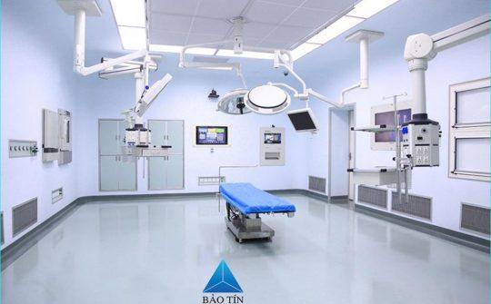 Thi công phòng mổ – Bệnh viện Xây Dựng
