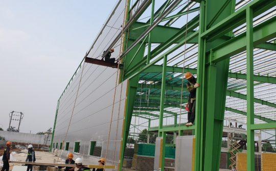 Thi công trần vách Panel- Công Ty Panama