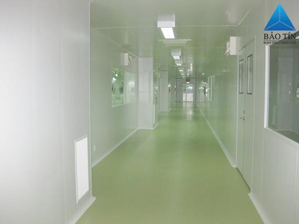 Phòng sạch đảm bảo độ an toàn về bụi bặm, vi khuẩn