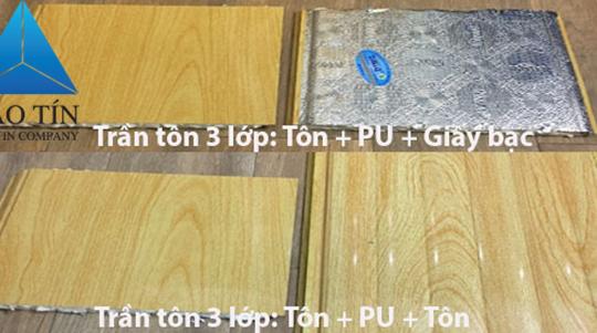 Trần tôn 3 lớp: cấu tạo, ưu điểm và báo giá thi công