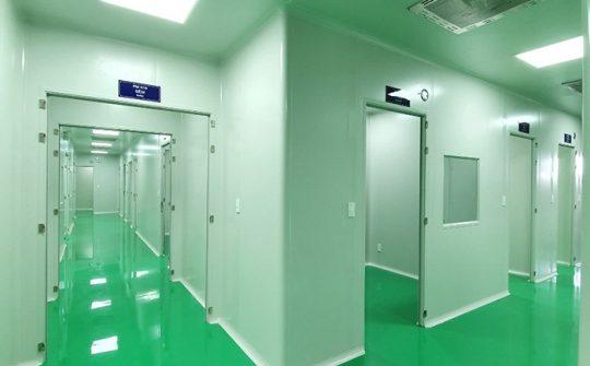 Thi công trần vách Panel – Phòng in Bộ Tài chính